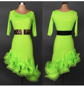 New competition Latin salsa tango Cha cha Dress professional Ballroom Dance Dress