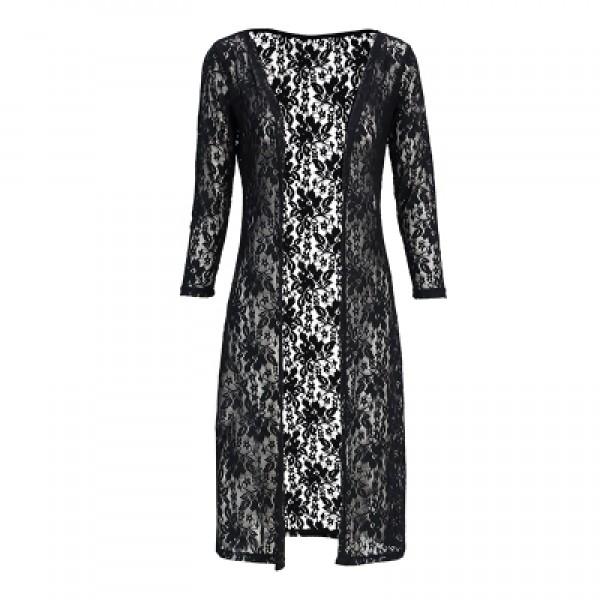 Lace overcoat