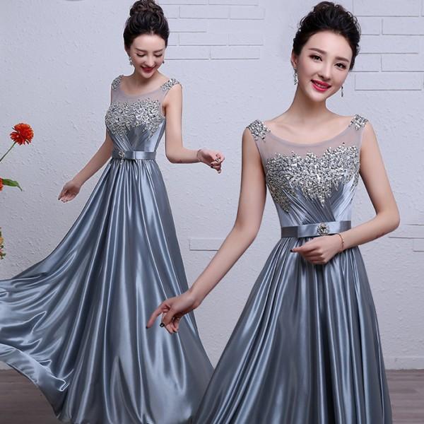 Satin Material Dress Weddings Dresses