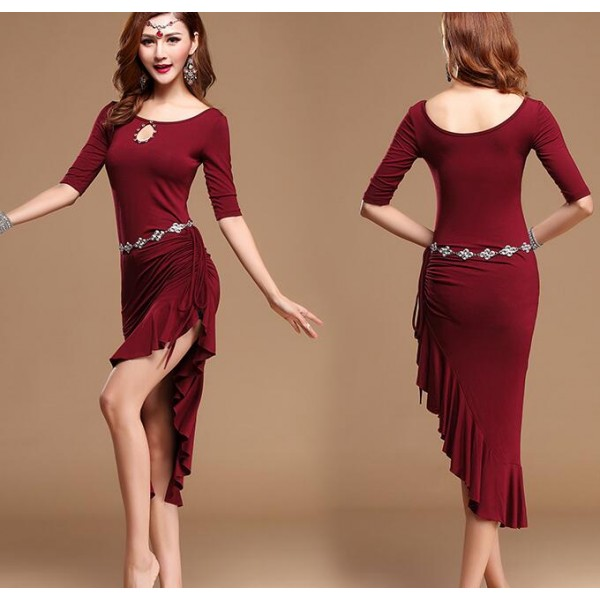 Silver violet wine red royal blue fuchsia colored women's ...