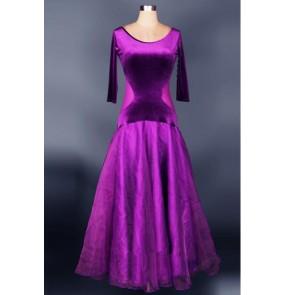 Velvet Waltz Cha-Cha Dance Dress