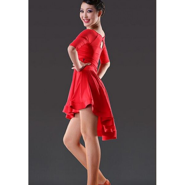Sexy latin dance dress