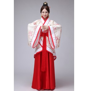 Women's ladies Adult  Chinese traditional ancient stage performance costumes Cos play  Dynasty Show  fairy dresses