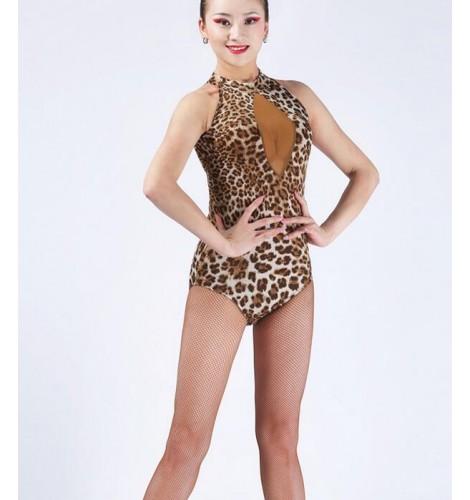 2595c070d6dc Women s ladies female leopard rainbow printed black leopard ...