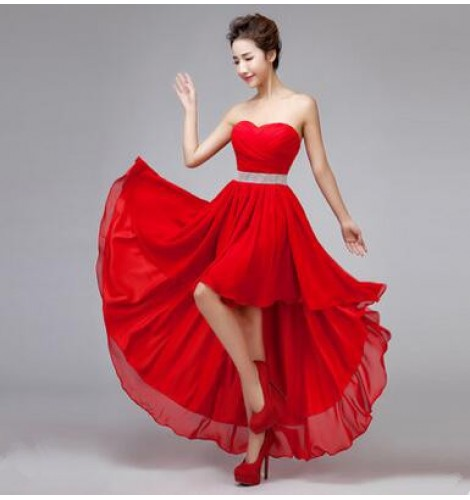 Women s off shoulder diamond decoration evening wedding party dress  bridesmaid dress coral royal blue red 649c5bdc6e