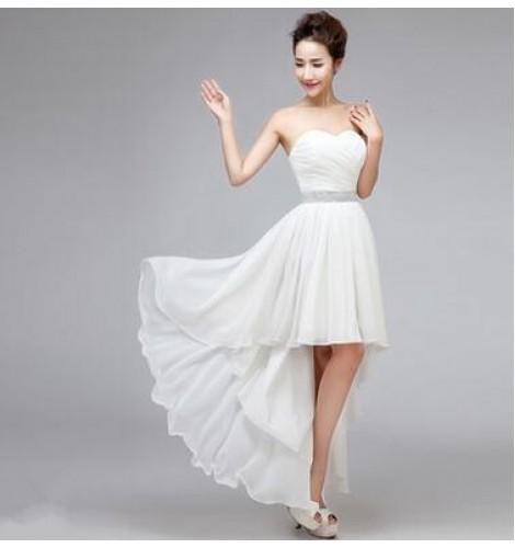 Shoulder Diamond Dress