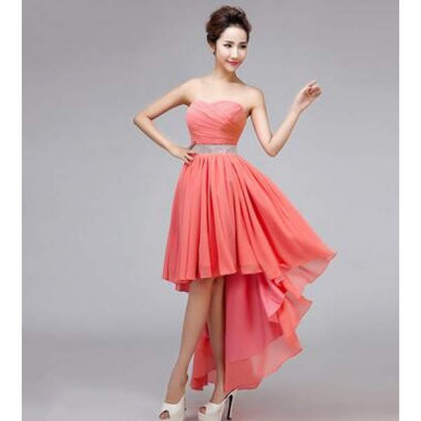 Collection Coral Party Dress Pictures - Reikian