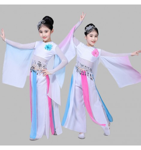 kids-ancient-traditional-chinese-for-girls-white-and-pink-folk-dance- costumes-fairy-yangko-fan-dancing-drama-cosplay-classical-dancing-dresses -8460-470x500.jpg 38365a378