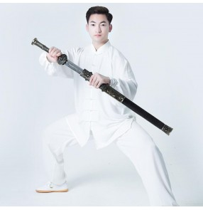 Kung fu uniforms taichi clothing for women and men martial art wushu performance clothes for unisex