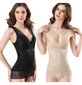 Ladies Slimming Bodysuit Body Shapers summer breathable Body Shape Lifting Fat Burning Underwear