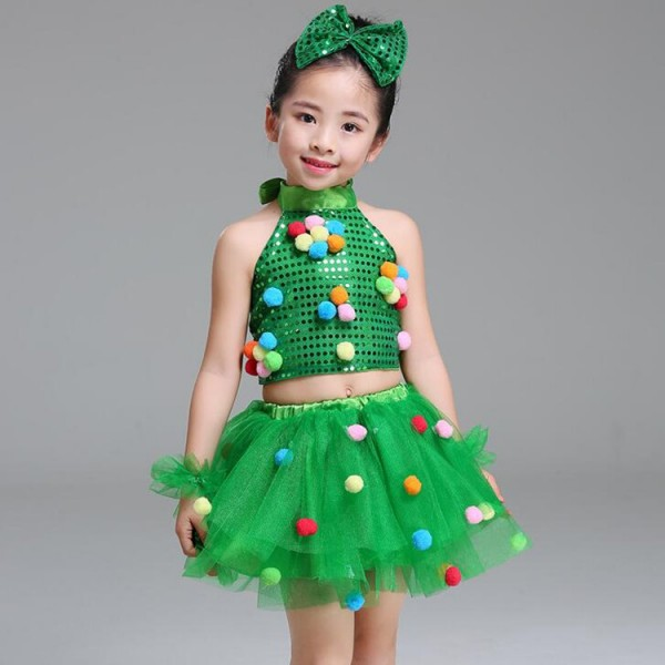 0830d9a946ec1 Modern dance spring jazz dance dresses for girls boys kids school princess  baby ballet stage performance show dance outfits