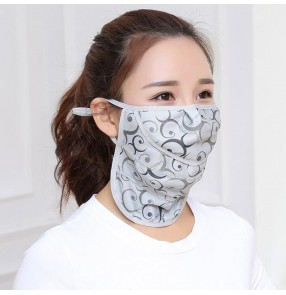mouth mask Face Mask Sun Protection Mask Outdoor Riding Masks dust proof Protective sunshade face cover Mask