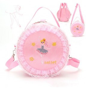 Princess ballet Dance bag girls dance backpack princess fashion shoulder ballet latin dance bag for kids baby