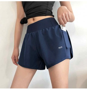 Sports Yoga running shorts women's anti-failure fitness pants loose high waist yoga pants slimming running pants outside casual pants