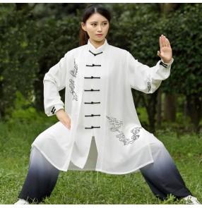 Tai Chi suit Xiangyun three-piece suit Taijiquan performance competition practice clothing gradient color performance suit