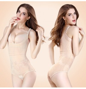 women One-piece slimming shapeless body shapers Hip lift abdomen corset summer