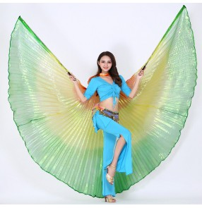 Women's belly dance wings indian princess queen dance stage performance props wings
