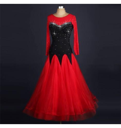 da7e7135d women-s-black-with-red-ballroom-dancing-dresses-robe-de-danse-feminine-waltz -tango-flamenco-dance-dresses-skirts-9656-470x500.jpg