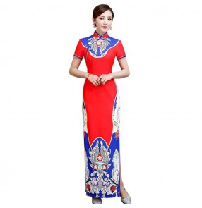 Women's chinese dresses traditional Chinese cheongsam oriental qipao dresses