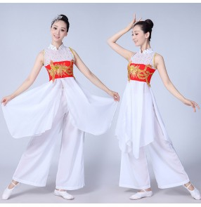 Women's chinese folk dance costumes fairy cosplay classical ancient traditional dance fairy stage performance dresses