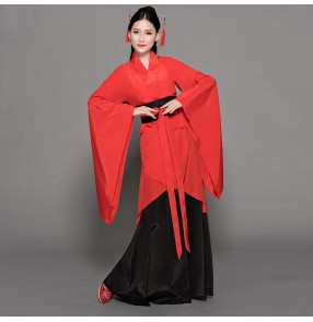 Women's chinese Hanfu traditional ancient princess dresses anime drama photos cosplay kimono dresses fairy dress