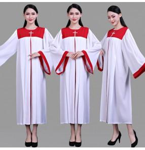 Women's Christ jesus church choir dresses stage performance church chorus dresses church recite dresses