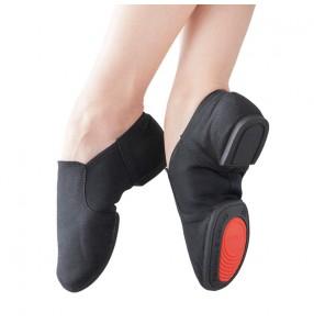 Women's girls canvas jazz dance shoes soft sole modern dance shoes outdoor ballet gymnastics teacher training performance shoes