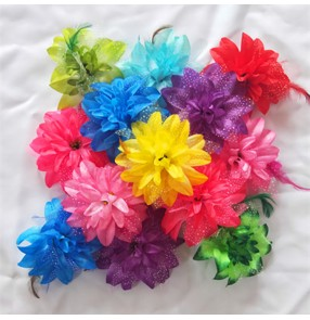 Women's girls stage performance head flowers modern dance folk dance drama cosplay headdress