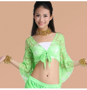 Women's jazz dance stage performance latin dance  belly performance accessories wrap chest with bra pad one size