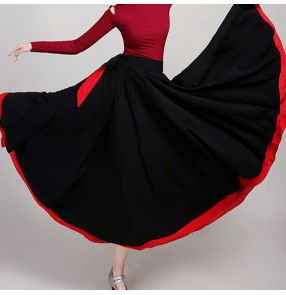 Women's modern dance skirts exercises practice ballet dance costumes Mongolian dace skirts