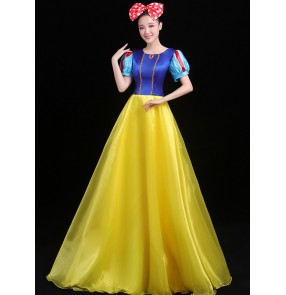 Women's princess modern dance dress palace drama cosplay dresses