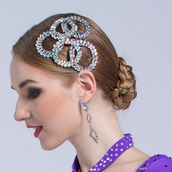 Ballroom Dance Hair Bun Hobby Ane