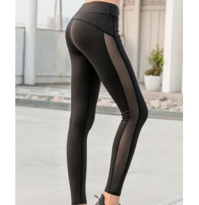 Women's yoga pants quick dry fitness sports running dance gyms yoga capris pants workout leggings